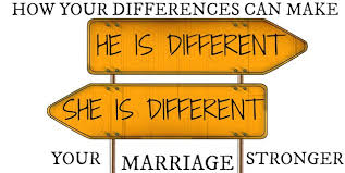marriages are couples who are different